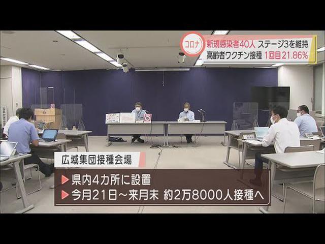 画像: 【新型コロナ】静岡県40人感染…静岡市15人、浜松市9人 感染状況は「ステージ3」を維持 youtu.be