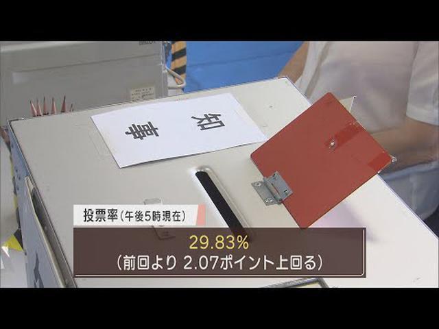 画像: リニアなど争点に現職と新人の一騎打ち…静岡県知事選、午後5時現在の投票率は前回を2ポイント以上上回る youtu.be
