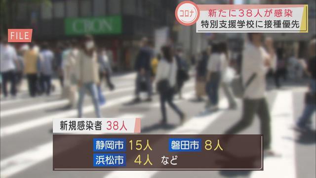 画像: 【新型コロナ】静岡県38人感染…静岡市15人、磐田市8人など 学校クラスターはマスク外す場面での飛沫感染か youtu.be