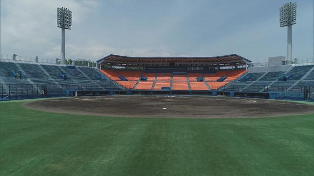 画像: 静高のエース高須、翔洋のエース鈴木が球場入り
