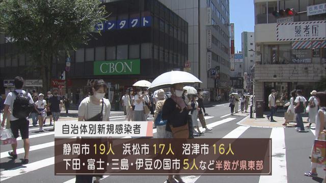 画像: 【新型コロナ】2カ月半ぶりに100人超…静岡県120人感染 県「東部・伊豆で感染者が急速に拡大…」