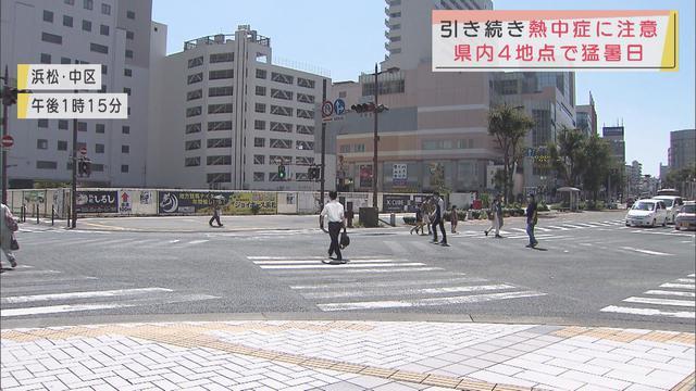 画像: 静岡県に熱中症警戒アラートが発表 暑さのピークは30日でも31日も浜松34度、静岡32度の予想