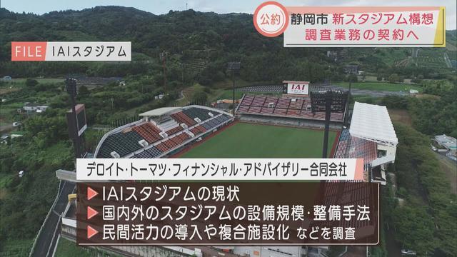 画像: サッカー王国の新サッカースタジアム建設に関する調査会社決定 静岡市 youtu.be