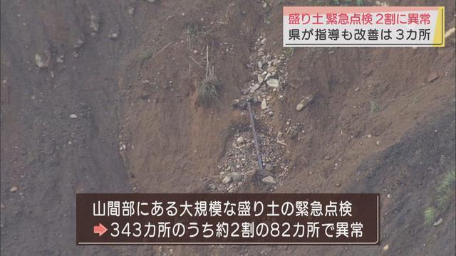 画像: 盛り土の2割に異常…のり面の崩落や排水設備の不良など 静岡県が熱海市の大規模な土石流災害をうけ緊急点検