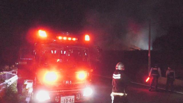 画像: 静岡・磐田市で火災 木造住宅が全焼し1人の遺体が見つかる