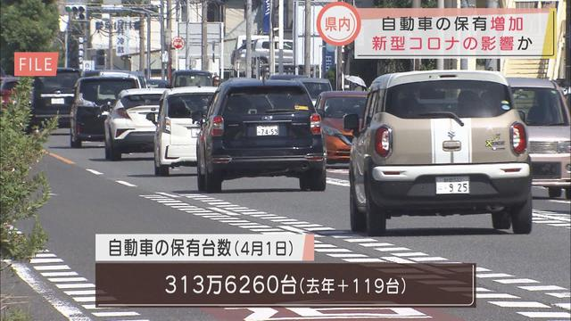 画像: 新型コロナの影響か 車の保有台数7年ぶりに増加 静岡県 youtu.be