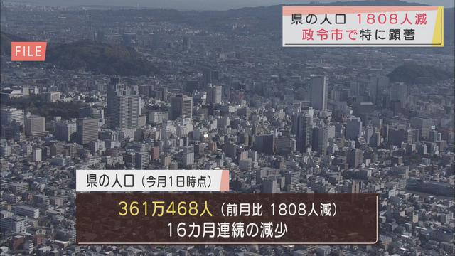 画像: 静岡・浜松両政令市が大幅減…9月の静岡県の人口1808人減少