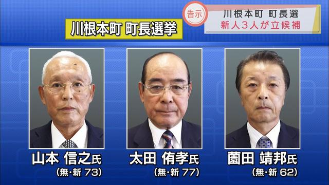 画像: 静岡・川根本町長選告示 選挙戦は新人3人の三つどもえに 10月3日投開票 youtu.be