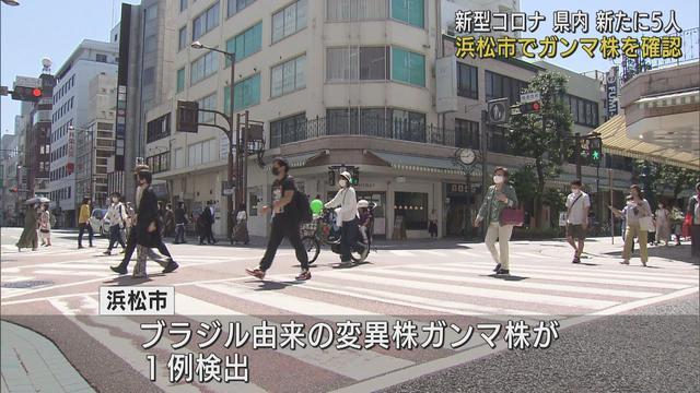 画像: 【新型コロナ】静岡県でガンマ株初確認 新規感染者は5人、病床使用率は2・7% youtu.be