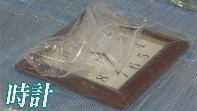 画像: 時計の針は11時36分を指したまま
