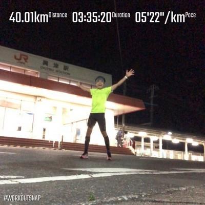 画像1: ひとりウルトラ(100キロ)マラソン挑戦への道 その2
