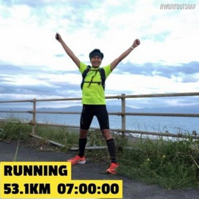 画像1: 50歳!10時間で100キロ走れるか!?