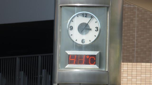 画像2: 浜松で40℃超!記録的な暑さ