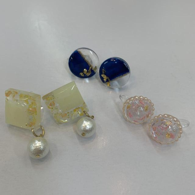 画像1: かわいいイヤリングのプレゼント