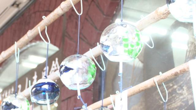画像: 三島の街中で涼を感じさせてくれる「みしま風鈴」