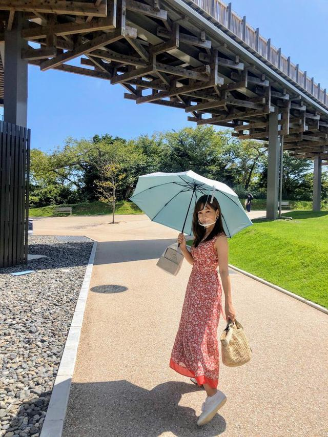 画像: 以前通勤途中に持ち手を紛失した日傘。