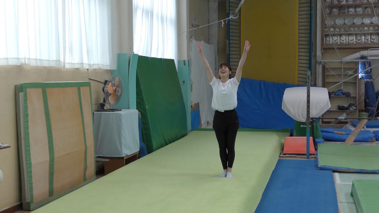 画像2: 体操日本一から10年 バク転から始まる復活ロード