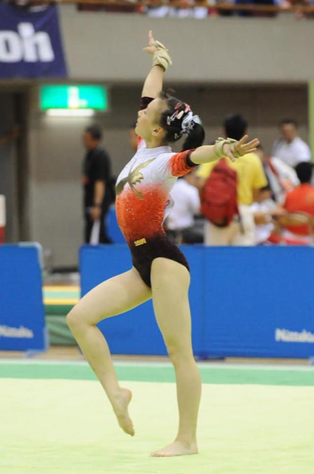 画像: 2010年の全日本ジュニア体操競技選手権大会(個人総合優勝)