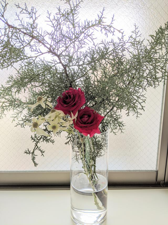 画像: 花器3 高さ30センチ たぶんガラス