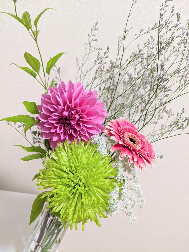 画像: 花器1 やっぱり生けやすい 口が狭いものは特に