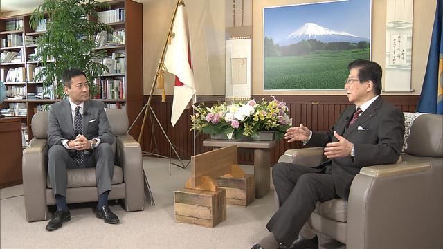 画像: 「いかにして終えるか・・・」川勝知事の思い