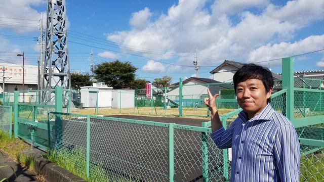 画像: 浜松のアメダス(気温計設置場所)