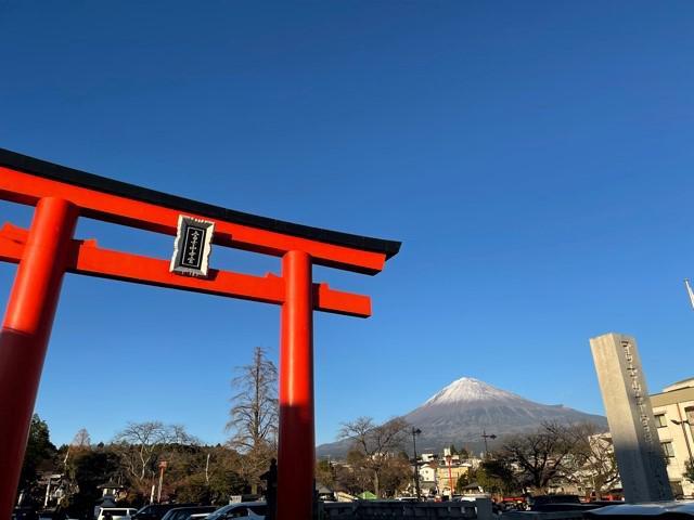 画像: 元日の富士山!