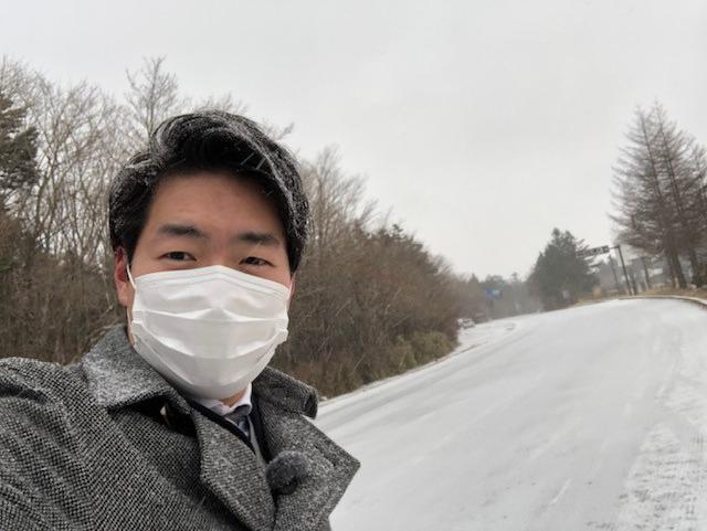 画像1: 雪