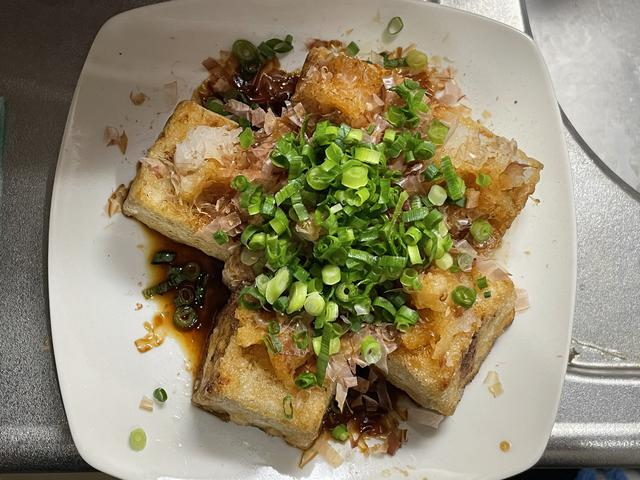 画像: 揚げ出し豆腐