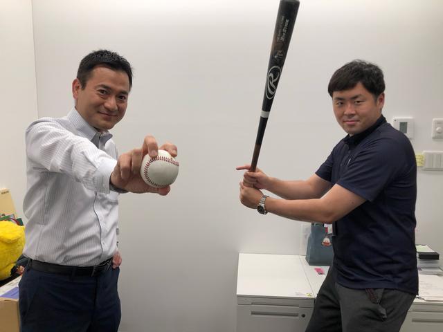 画像: すっかり紅林選手になりきっている片山アナ マニアすぎる野球情報が彼の持ち味