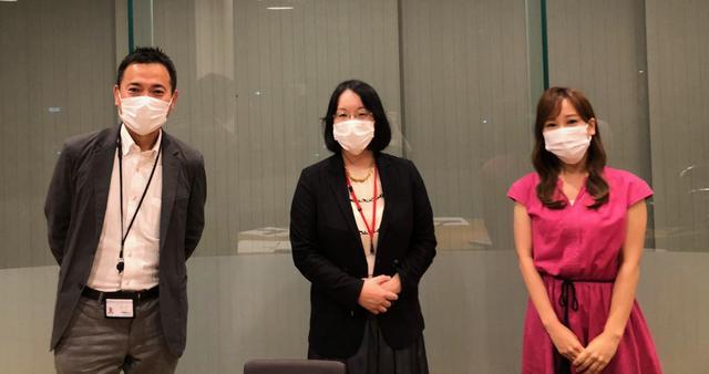 画像: 中央が「温泉好き」という井柳美紀教授 進行は「ニュースコンビ」久保円華アナと。
