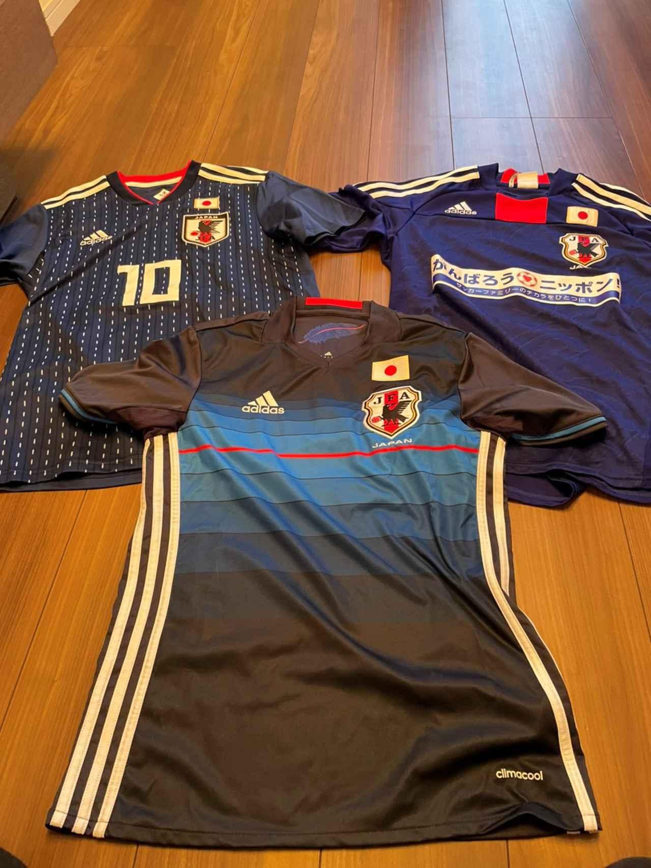 画像: 右上:2011年東日本大震災チャリティーマッチ 下:2016年リオデジャネイロオリンピック 左上:2018年ロシアW杯