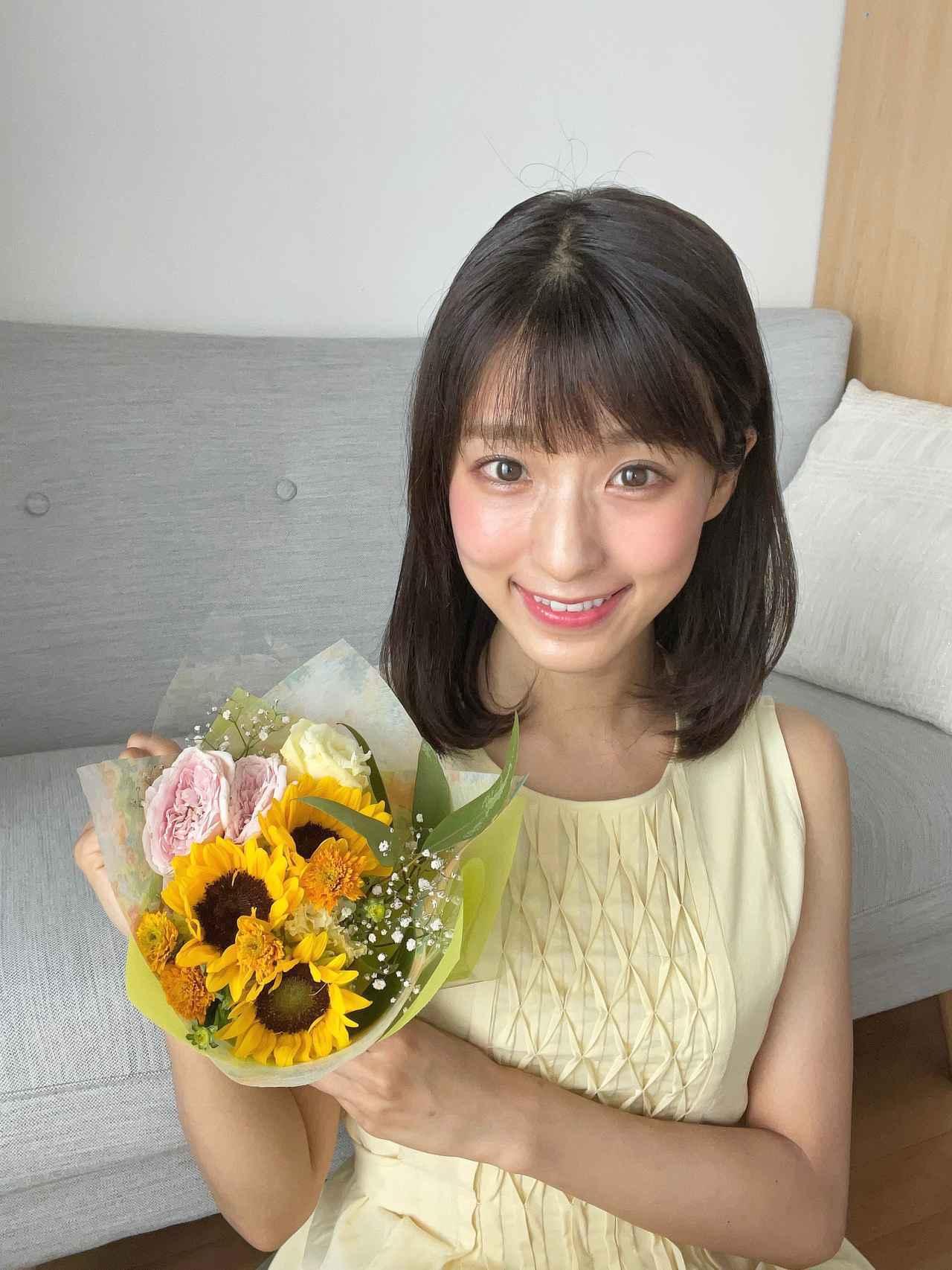 画像: 大好きな夏の花 ひまわりももらいました。かわいい♪