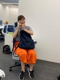 画像: (宮﨑アナは奥歯を駆使。踏ん張ってます)