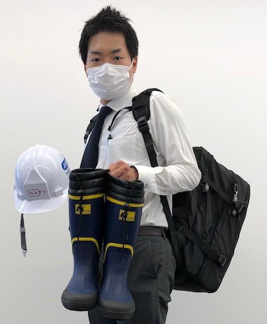 画像: (リュックは6000円程でした。自宅の緊急用にも買おうと思っています。)