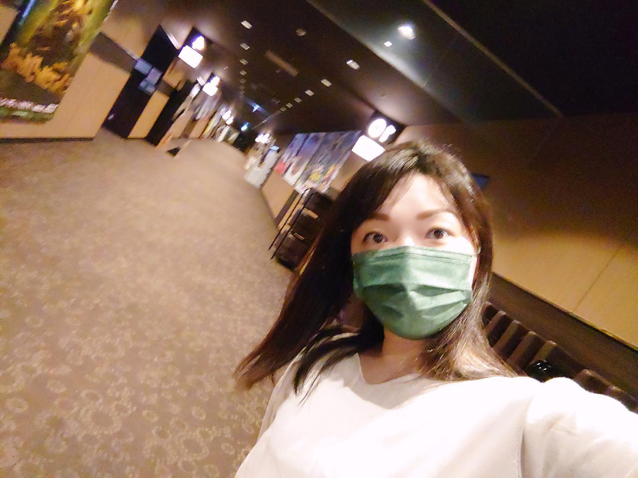 画像: 映画館も感染対策がしっかりとられていました。