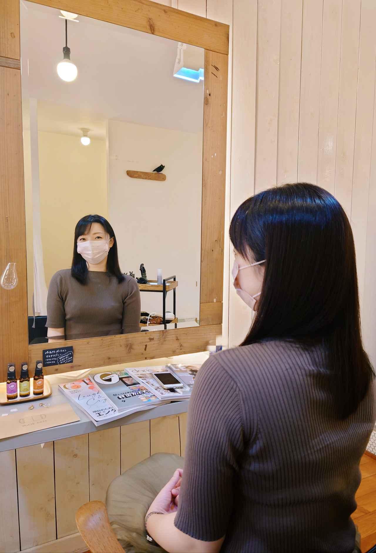 画像: 美容院でスッキリ整えてもらいました