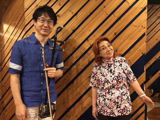 画像: 「続・野沢の雅子さん」8月29日(土)#5 ゲストは 賈 鵬芳さん