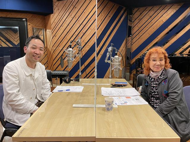 画像: 「続・野沢の雅子さん」5月1日(土)#40 ゲストは 気象予報士の天達武史さん