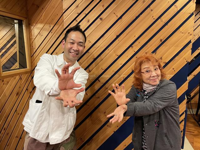 画像: 「続・野沢の雅子さん」5月8日(土)#41 ゲストは 気象予報士の天達武史さん