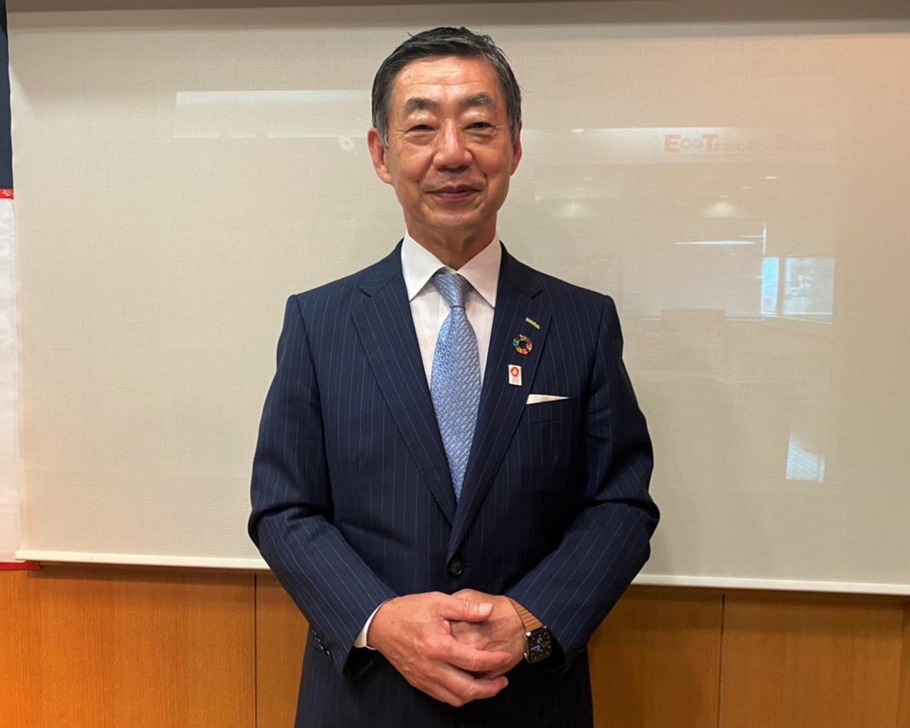 画像: サラヤ株式会社 代表取締役 更家悠介 氏 www.saraya.com