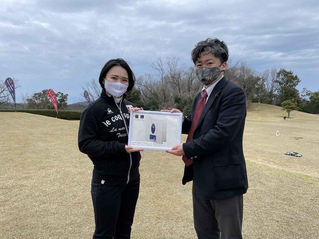 画像: ウィメンズディビジョン優勝 川口選手