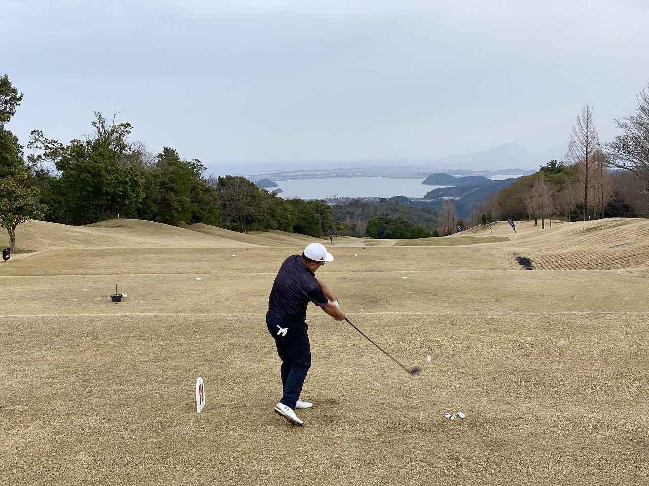 画像: オープン・シニアカテゴリーにて優勝した酉川選手のショット