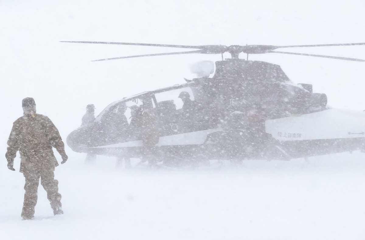 画像: 寒冷地飛行試験