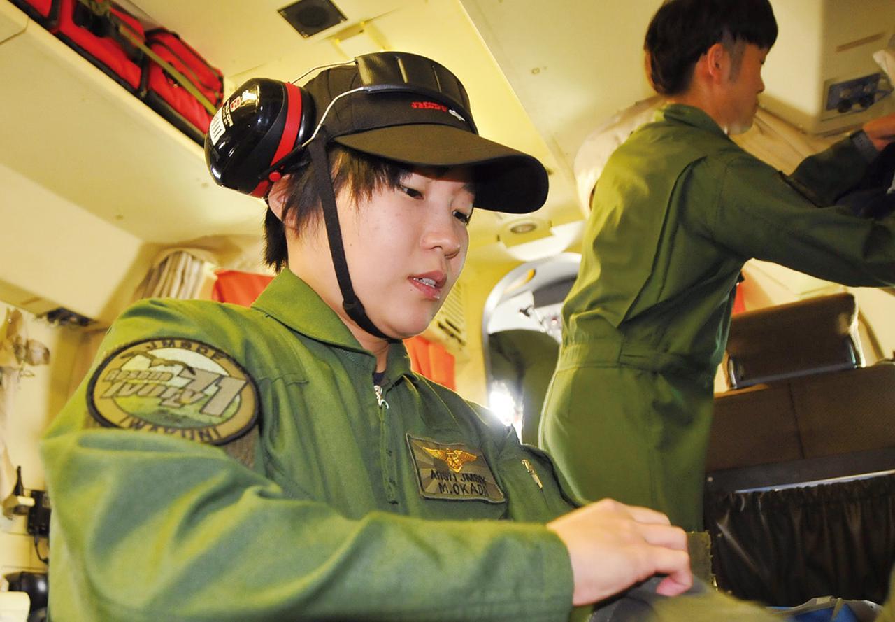 画像: US-2で600時間の飛行経験を経て、機長に昇格した岡田2尉