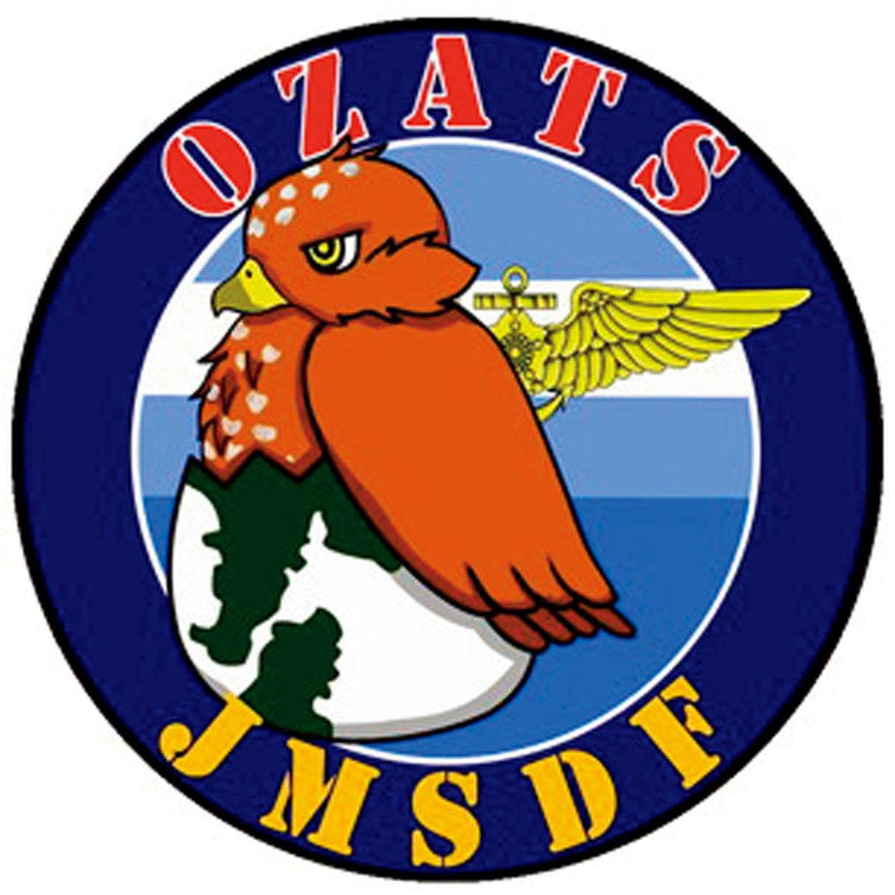 画像: 2015年に新しくなった小月教育航空隊の部隊章(スコードロン・マーク)。卵の殻を破り、海鷲の幼鳥が立っている