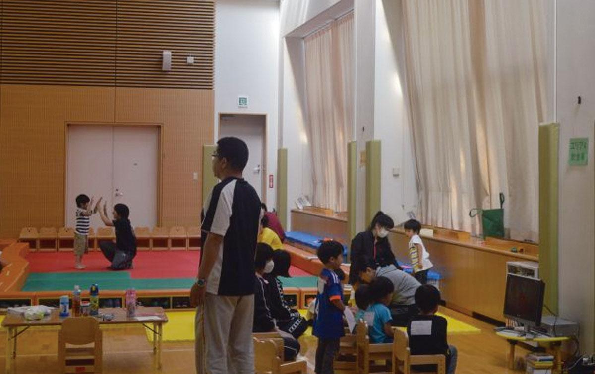 画像: 東日本大震災や、新型コロナウイルス入院患者が集中している時期にも託児施設は開設された