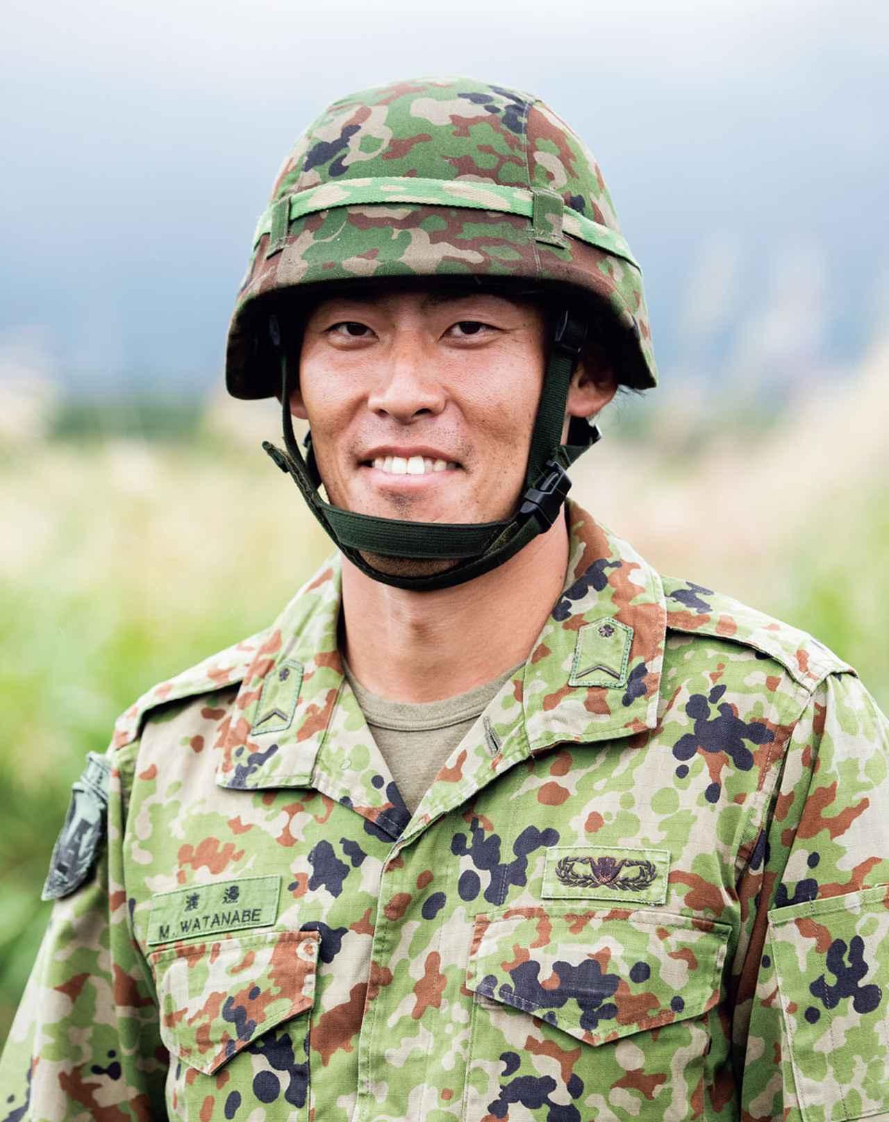 画像: 2016年入隊。第2普通科連隊で勤務した後、31連隊へ。自分自身の練度を高めながら、あわせて即応予備自衛官の指導を行っている