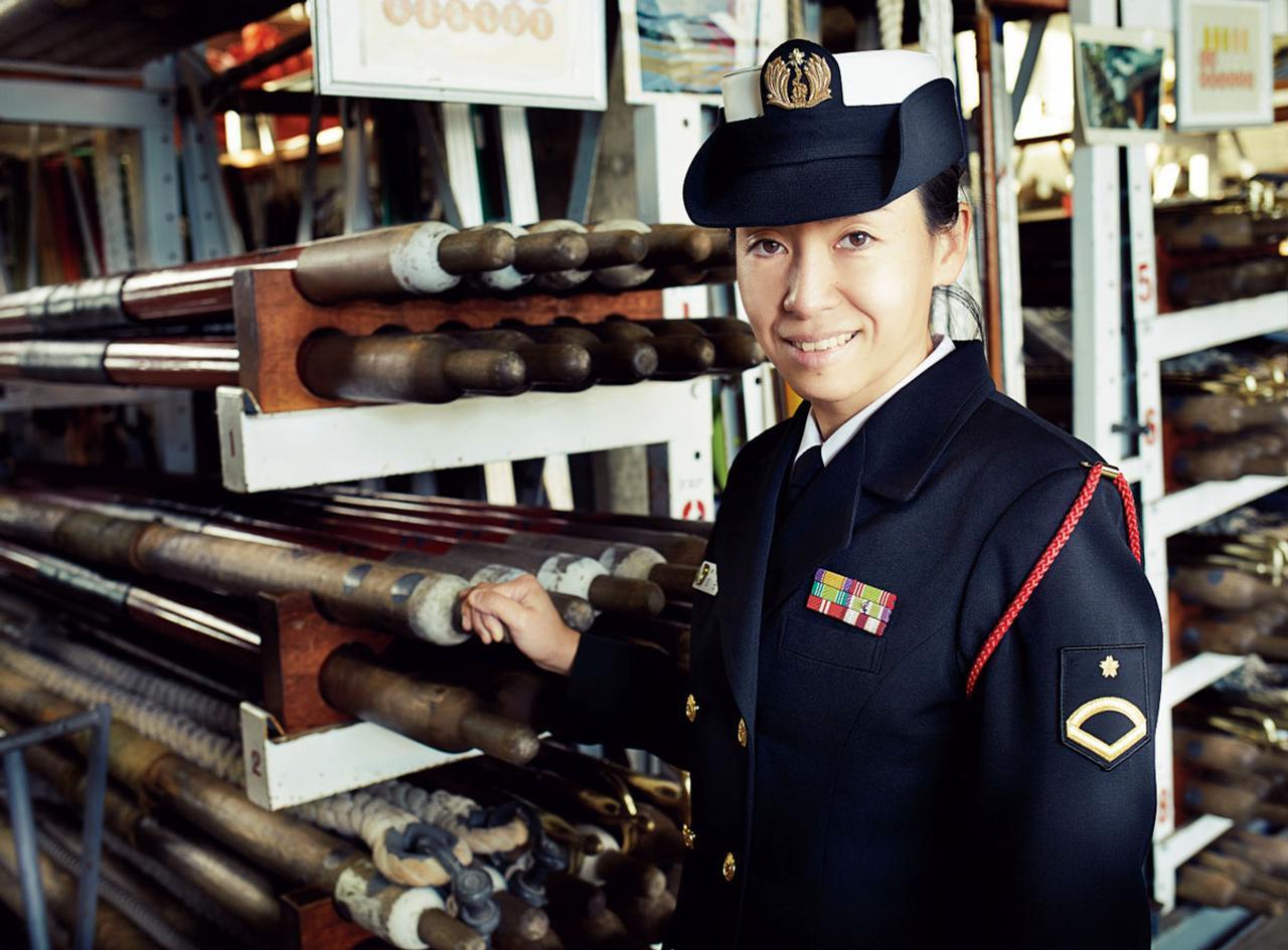 画像: 2009年入隊。厚木第4整備補給隊電整隊、厚木航空集団司令部管理幕僚部庶務班での勤務を経て、20年より現職