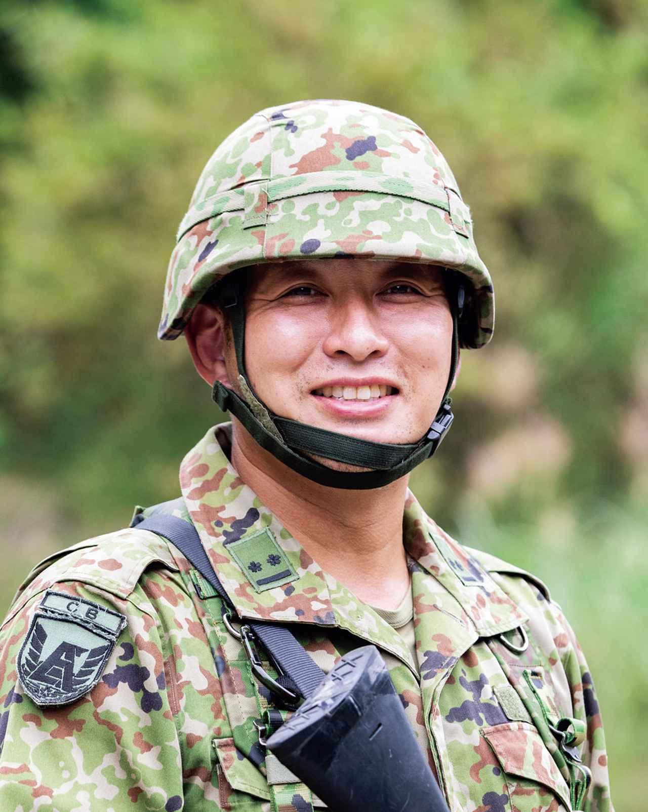 画像: フル連隊(注)からコア部隊の31連隊に配属されて2年目。昨年度は 区隊長 を務め、即応予備自衛官を目指す一般公募予備自衛官の1期生を育成